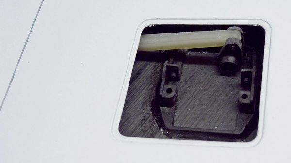 IDS servo mount and LDS connecting rod