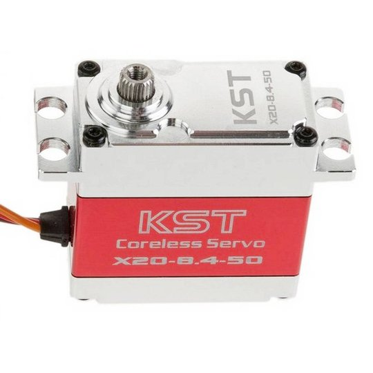 KST X20-8.4-50MG HV High Power Servo - 21mm 82g 45Kg.cm (KST-X20-8450)