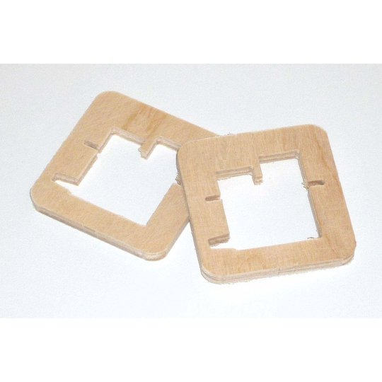 Frame For Sd150d60 Pair Servos Wood Mounting Frames