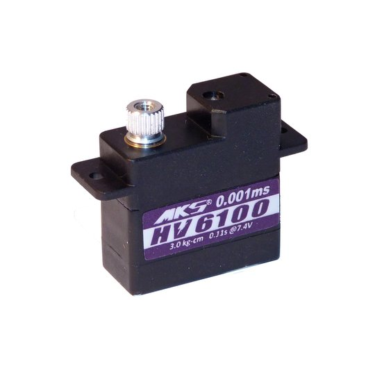 High Voltage Servos