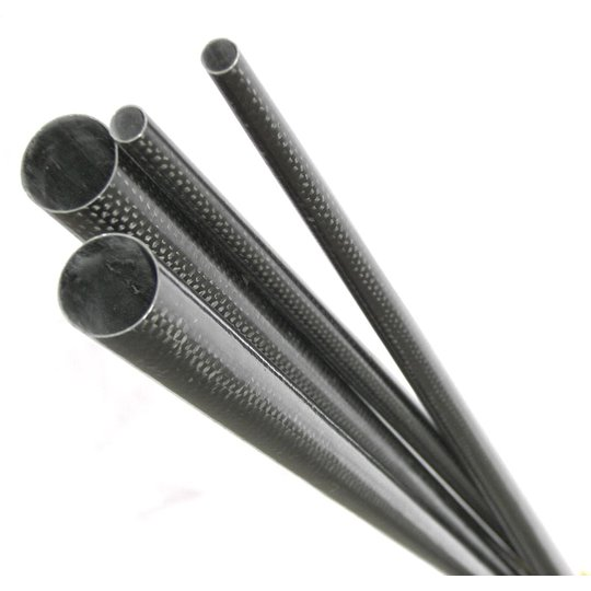 18.5mm - 7.5mm x 0.88m Tapered Carbon Boom (CARBON-BOOM-185-7)