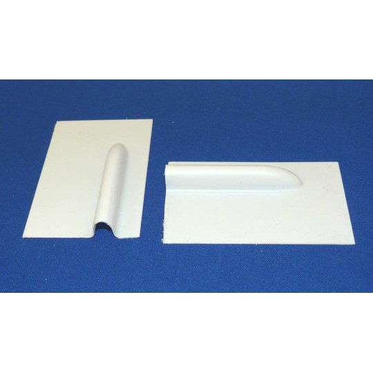 Small Plastic Shrouded Servo Cover (makes 2) (SERVO-COVER-SML)